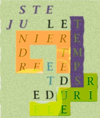 JUSTE LE TEMPS D ETREINDRE ET DE FLEURIR- BRIBES 12.4