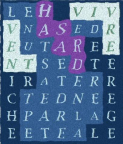 LE HASARD EST-letc