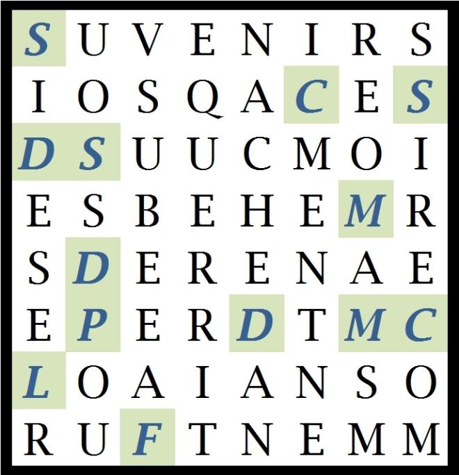 SI DES SOUVENIRS - letc