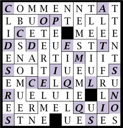 COMMENT PEUT IL ETRE - letc1