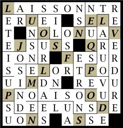 LAISSONS NOS - let1