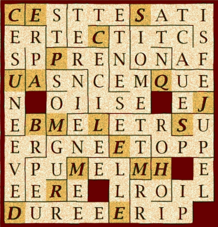 C EST PRECISEMENT CETTE - letr1