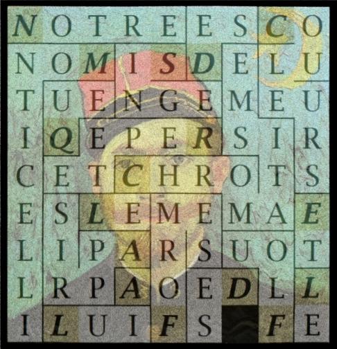 NOTRE SINGE REPETE QUE MONTICELLI LUI A APPRIS LE CHROMATISME - letcr1-expo