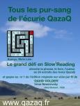affiche information défi qazaq