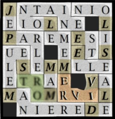 JE PARLE MA MORT SEULE MANIERE - letcr1-EXP