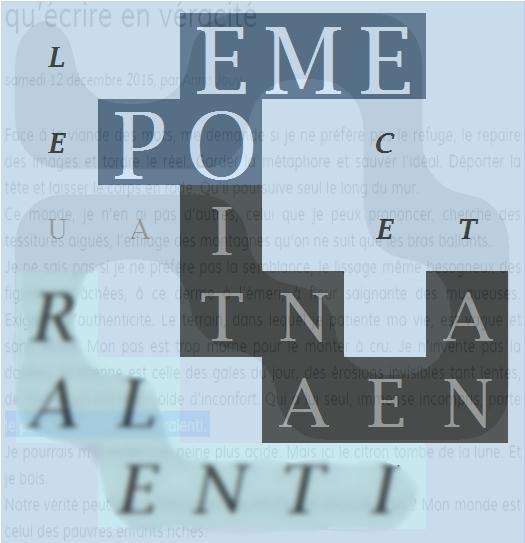 LE POEME CET ANEANTI AU RALENTI - -letcr1-2exp2