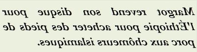 MARGOT REVEND SON DISQUE POUR L ETHIOPIE - txt0r
