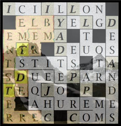 ICI IL Y A DES PETITS TREMBLEMENTS - letcr1-exp