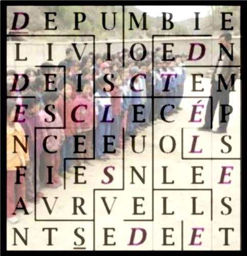 DEPUIS COMBIEN DE TEMPS L ÉCOLE - letcr1-exp2