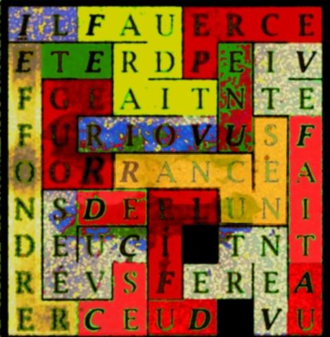 IL FAUDRAIT VOIR ROUGE - letcr1-exp61
