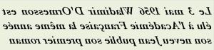 02-05-1956 -LE 3 MAI 1956 WLADIMIR D ORMESSON- txt0r