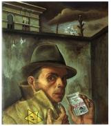 félix Nussbaum - autoportrait