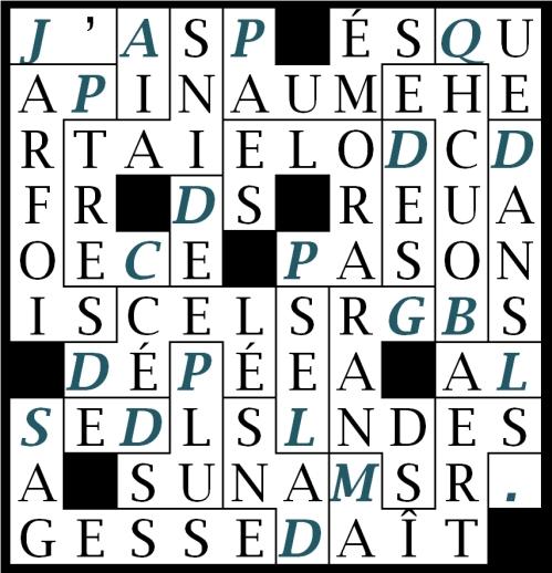 J_ AI PARFOIS DÉCELÉ PLUS DE SAGESSE-let