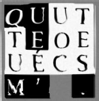 01-b-QUE TU M' ÉCOUTES-n&b-