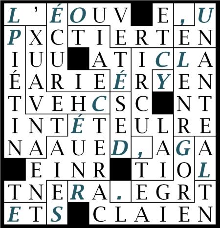 P11 - L' ÉCURIE ÉTAIT OUVERTE-let