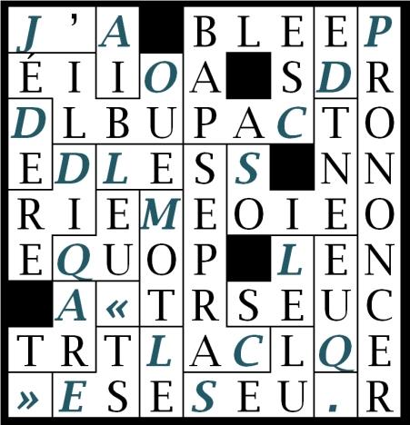 A06-J' AI OUBLIÉ DE DIRE-let