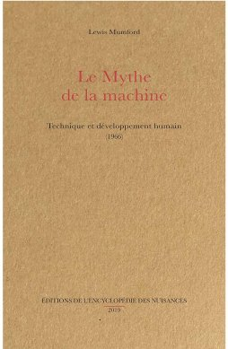 Le mythe de la machine - couverture