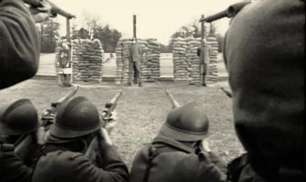 fusillés pour l'exemples Grande Guerre 14-18-1