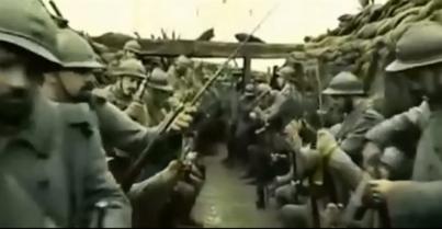 soldats près à l'assaut