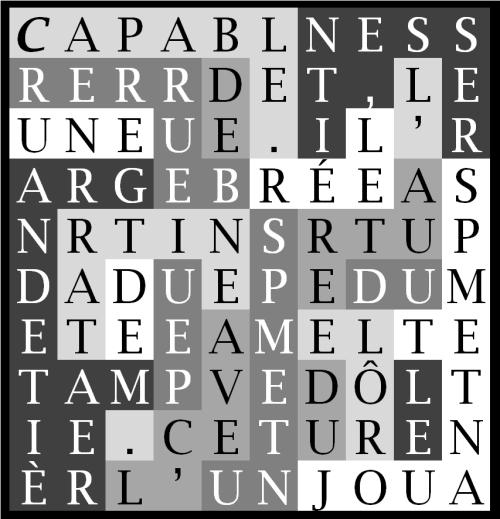 CAPABLE DE BEURRER-letNdG