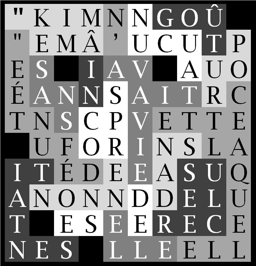 KIM N' AVAIT AUCUN-letNdG