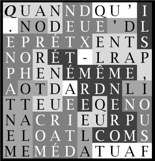 QUAND ON PRÉTEND QU' ILS PARLENT D' EUX - MÊME-leNdG